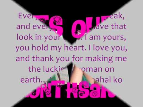 Love song for monthsary
