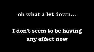The 1975 - Settle Down (lyrics)