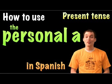 01049 Spanish Lesson - Personal A