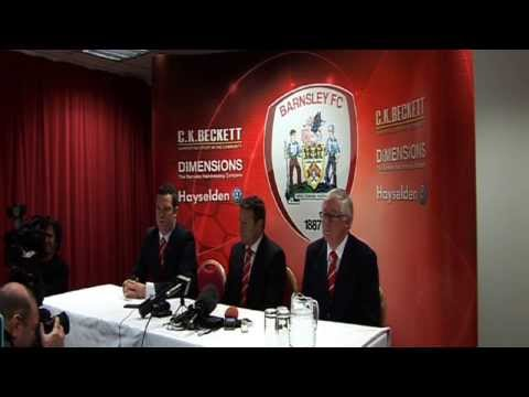 Danny Wilson's Barnsley FC Press Conference