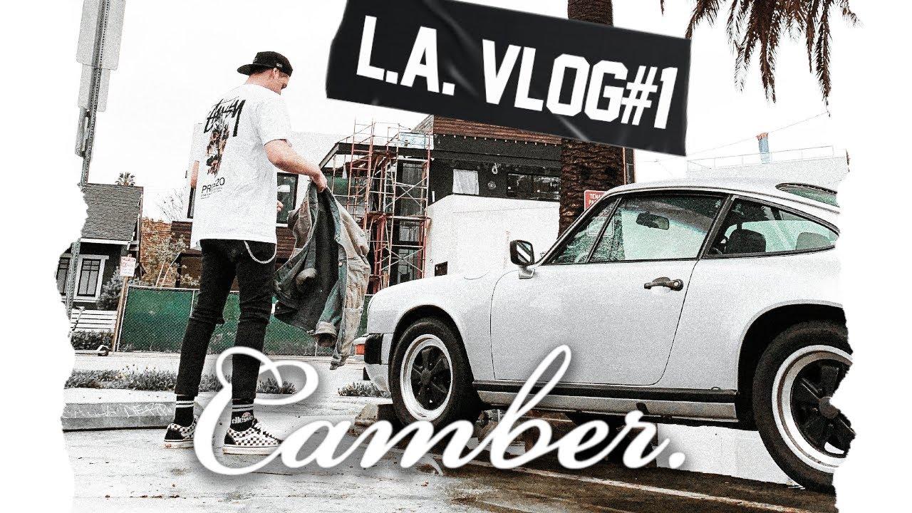 Camber. Vlog LA x Race Service x XS Mag