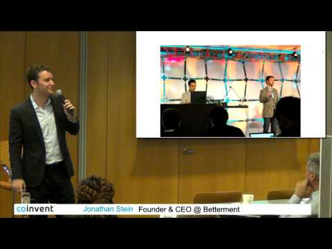 Software Eating The World: Finance  - CoInvent Startup Summit 2014 New York