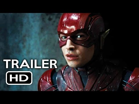 Justice League Comic Con Trailer (2017) Ben Affleck, Gal Gadot Action Movie HD