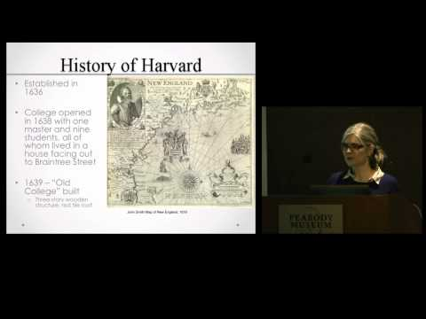 Life at Colonial Harvard: The Archaeological Evidence on YouTube