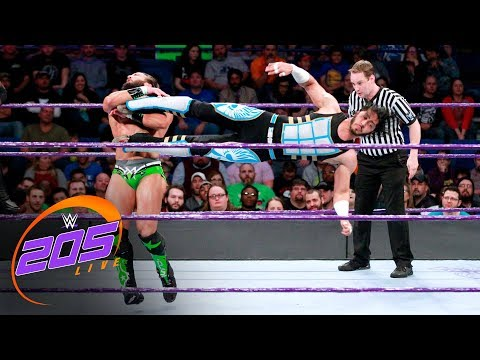 Cedric Alexander & Mustafa Ali vs. Drew Gulak & Tony Nese: WWE 205 Live, Nov. 28, 2017