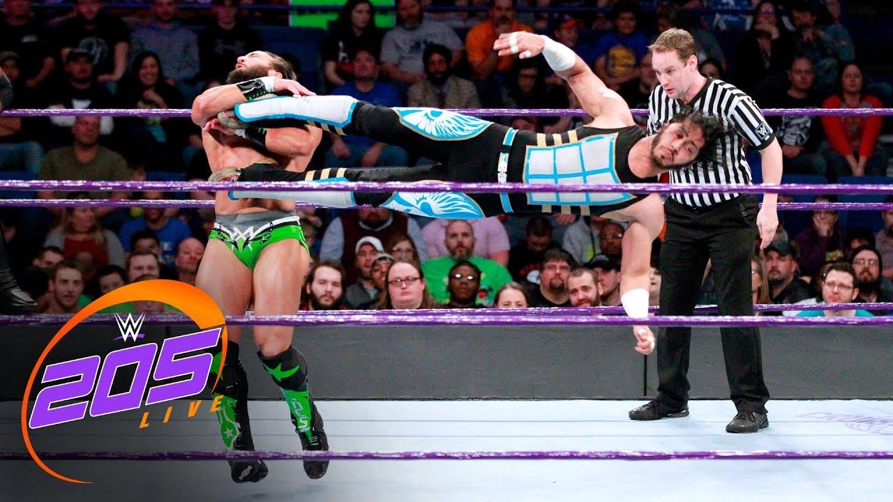 Download Cedric Alexander & Mustafa Ali vs. Drew Gulak & Tony Nese: WWE 205 Live, Nov. 28, 2017