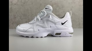 frijoles Roca laberinto  Nike Air Max Graviton Leather 'White' | UNBOXING & ON FEET | fashion shoes  | 2019 - YouTube