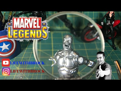 LIVE Action Figure Custom  | Finishing Silver Surfer & Planning Future Customs