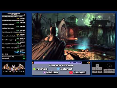 New Personal Best (2:00:33) - Batman: Arkham Asylum - 2 / 2