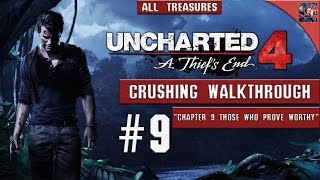 Uncharted 4 - Walkthrough / Crushing / All Collectibles - Chapter 9