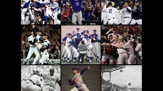 All Footage Of The World Series Last Outs (72) 1943-2016: YouTube First Edition (2017)