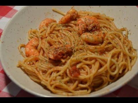 spaghettis-crevettes-ww-recette-cookeo