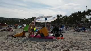 Sa Coma auf Mallorca, Beach September 2016