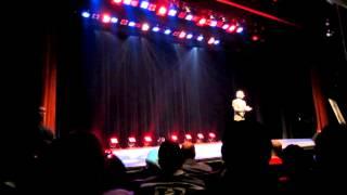 Partie du spectacle de Lotfi Abdelli le 2 MARS 2013 à Montreal
