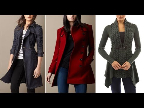 Latest Winter Coat Jacket Designs For Girls 2017 2018 Youtube