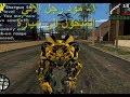 تحميل مود رجل الألي المتحول الى سيارة Transformers في Gta San المتحولون Gta San Andreas