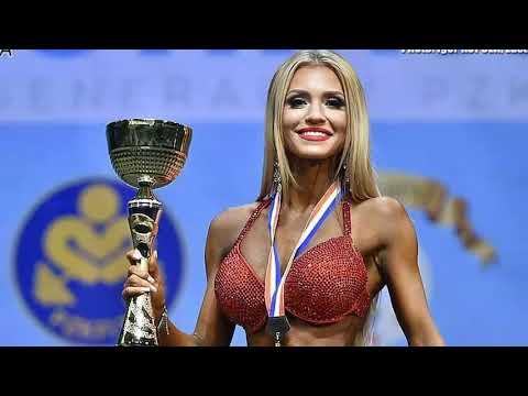 Yulia Romanova IFBB bikini fitness world champion up to 169