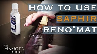 How to Use Saphir Reno'Mat