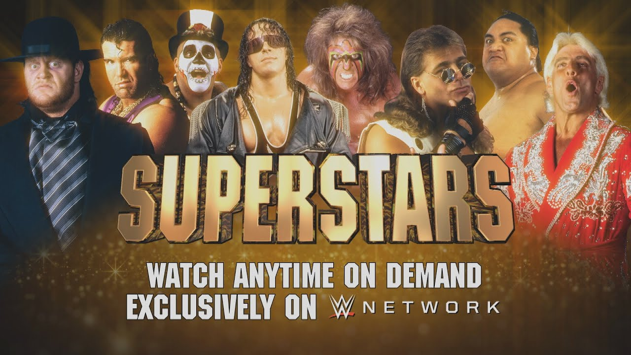 Catch Superstars action from the 90s - Anytime on demand on WWE Network