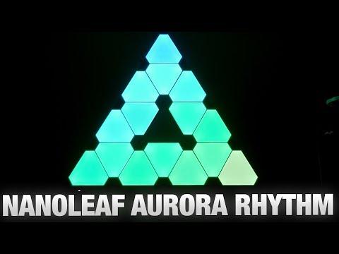 Nanoleaf Aurora Rhythm : le setup lumineux ultime !