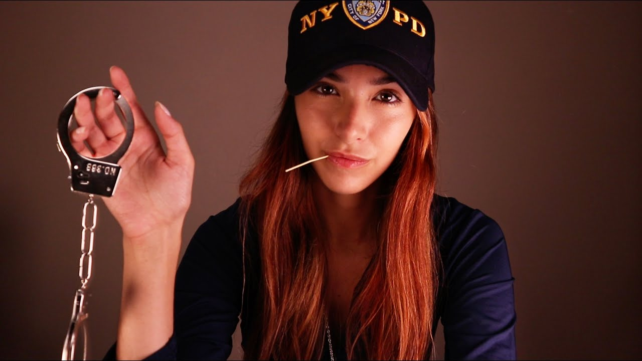 ASMR Tingle Police Officer Caught You!