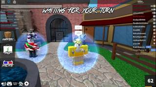ROBLOX MURDER MYSTERY 2 - France HANGING OUT WITH GOLDS (SUBSCRIBERS) - NON EDIT