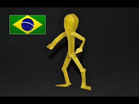 origami homem claudio acu241a j instru231245es em portugu234s