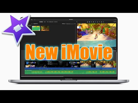 NEW iMovie for Apple MacOS Big Sur - FIRST LOOK