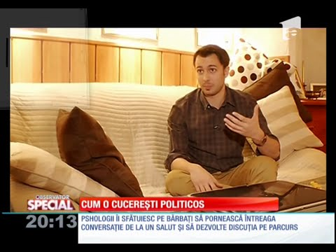 Cum o cuceresti cu replici politicoase (Antena1) Taher Sonu