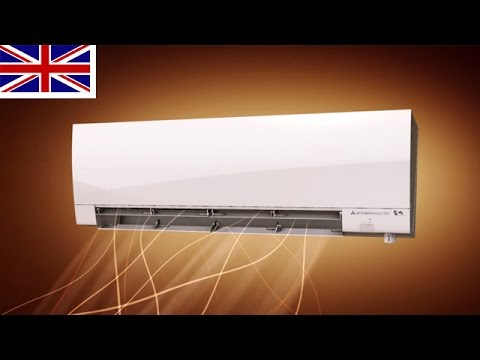 Reverse Cycle Wall Mounted Air Conditioner DELUXE MSZ FH From Mitsubishi  Electric