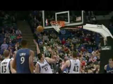 Darko Milicic vs Wizards (2010-11 NBA regular season)