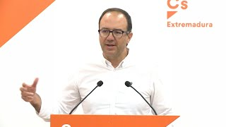 """Cs Extremadura: Rivera ha dado """"lección de coherencia y de integridad"""""""