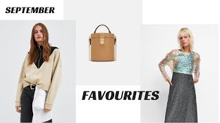 SEPTEMBER 2018 FAVOURITES | ZARA | MAC | FASHION BEAUTY MUSIC |