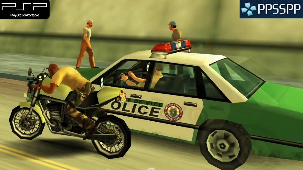 Grand Theft Auto - Vice City Stories (GTA) Android APK + ISO