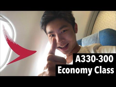 SMILEY SERVICE   CATHAY DRAGON KA731 Hong Kong to Kuala Lumpur (A330 economy class)