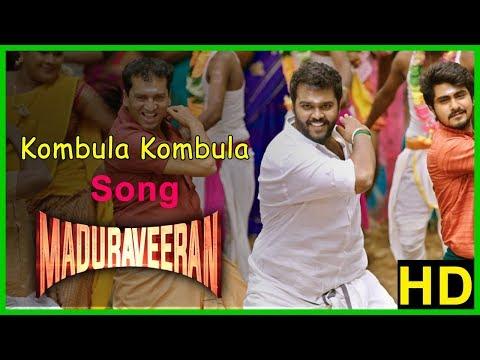 Kombula Song   Madura Veeran Movie Scenes   Ban on Jalikattu removed   Shanmuga Pandian