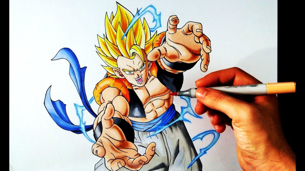 artemaster vs dibujame un duelo de titanes gogeta ssj2