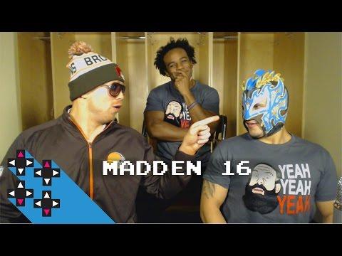 The Miz vs. Kalisto (Madden 16 Tournament Round 2) — Gamer Gauntlet
