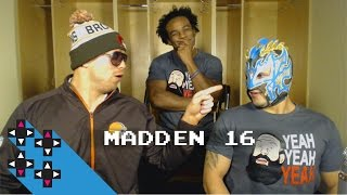 Moneymaker vs. Samurai del Sol (Madden 16 Tournament) — Gamer Gauntlet