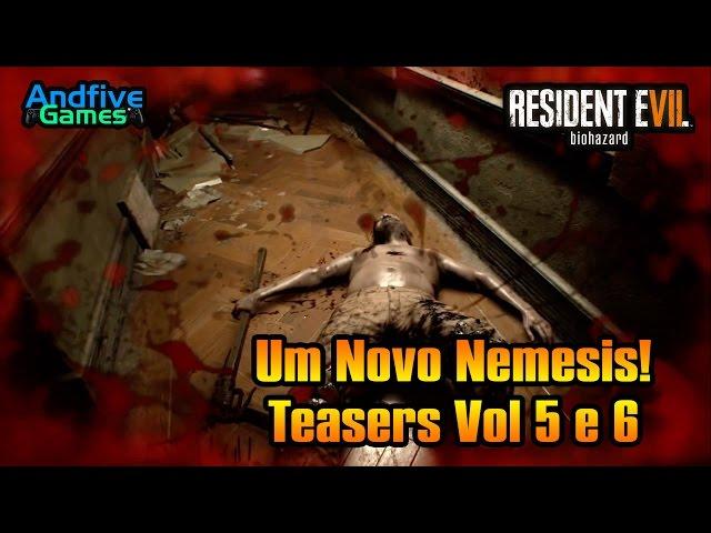 Resident Evil 7 Um novo Nemesis An�lise dos Teasers Vol 5 e 6