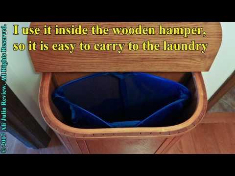 Bagail 2-Pack Pop-up Mesh Laundry Hamper