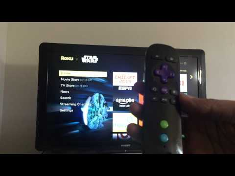 Roku: How to set bandwidth limit for streaming.
