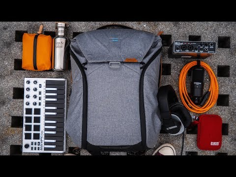 Best Backpack For Music Producers? How I Travel With My Mobile Studio