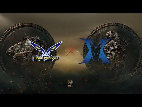 Flash Wolves x King-Zone - Jogo 1 (MSI 2018 - Fase Eliminatória - Semifinal)