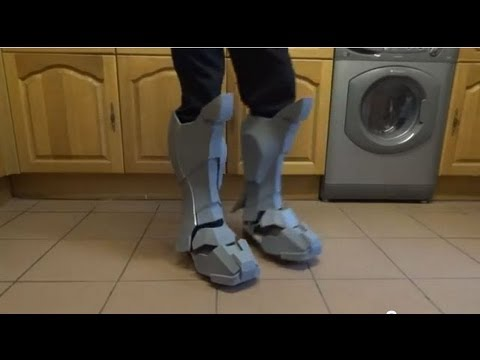 How To Make Craft Foam Boots