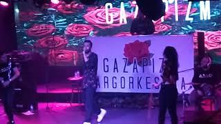 Gazapizm - pusula ve heyecanı yok İzmir ooze venue 1 Nisan canlı performans