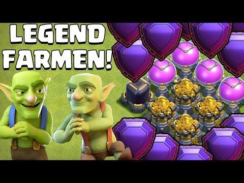 FARMEN IN LEGEND LEAGUE! ☆ Clash of Clans ☆ CoC