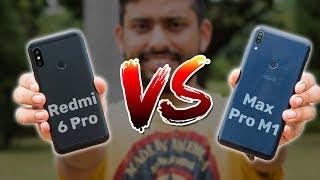 Redmi 6 Pro vs Zenfone Max Pro M1 Pro | Full Comparison, Camera, Gaming, PUBG & More