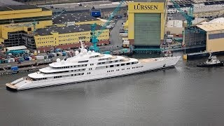 The Largest Yacht In The World / Yacht Azzam