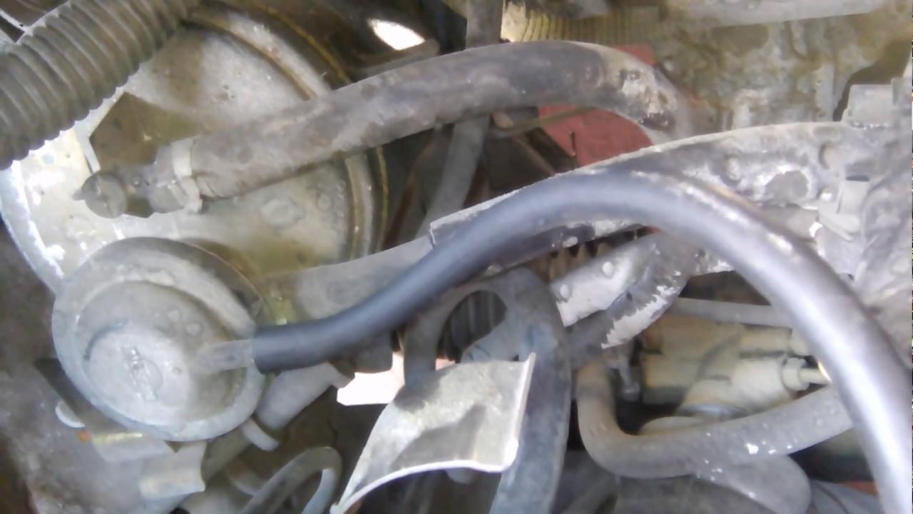 Conexión mangueras de vacío Nissan Gs modelo 1994 - YouTube